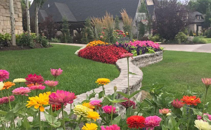 Flower Bed Design Service Salt Lake City Ut Landscape Design